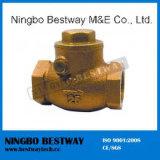 Válvula de retención de Material de bronce con precio Bottem