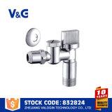 Chromed латунный угловой вентиль (VG-E12451)