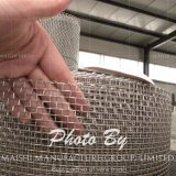 ステンレス鋼の金網の皿