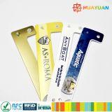 Wristband composto descartável clássico do plástico RFID do costume MIFARE mini