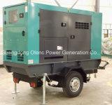 Generatore silenzioso del rimorchio di Cummins 4BTA 48kw