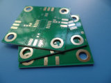 高周波PCB RO4350bの倍の側板の液浸の金