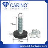 (J987) 다리를 조정하는 조정가능한 플라스틱 가구 다리