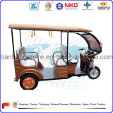 Tricycle pour Electric Powered 3 Wheeler Capable de transporter des passagers