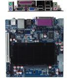 Carte mère de Mini-Itx du double coeur D525 d'atome d'Intel avec 2 la surface adjacente de mémoire de connecteur de X SATA 3gbps HD (III-M52X61E)