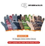 K-86 все перчатки хлопка безопасности работы цветов размеров связанные весом