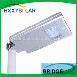 12W impermeabilizzano un indicatore luminoso di via solare intelligente del LED di 3 anni di garanzia