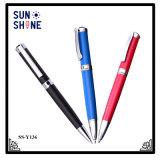 Crayon lecteur de luxe de première qualité escamotable en métal de stylo bille d'arrivée neuve