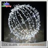 Света украшения рождества круглого шарика украшения СИД праздника блестящие