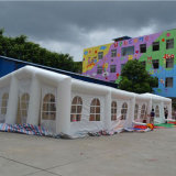 Гигантский раздувной шатер для показано