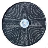 джинсовая ткань стежком цвета 250mm x 2 разделов/колесо Jean Buffing полируя для металла