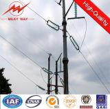 torre poste de la transmisión de energía eléctrica 400kv