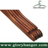 Non-Slip орех деревянные вешалки одежды Одежда зазубренной плечи
