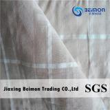 15mm de Stof van de Voile van het Ontwerp van het Einde van de Rib 10%Silk 90%Cotton voor Overhemd