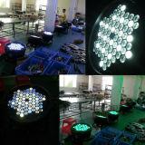 En el exterior LED DMX PAR 64 DJ discotecas de la luz de la etapa