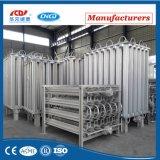 高圧低温液化ガスのガスの周囲の空気の蒸発器
