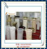 Nonwoven / Needle Felt Stainless Steel Ring Bolsas de filtro de PP para filtração de poeira