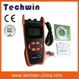 При помощи мультиметра измерьте оптической мощности Techwin Tw3212e