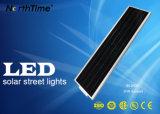 3 anos de grande eficacia de luz de rua solar do diodo emissor de luz da lâmpada da garantia