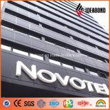 El panel compuesto de aluminio del nuevo diseño de Ideabond para hacer publicidad de la cartelera hecha en China