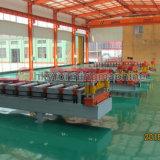 machine à profiler de toit ondulé en acier de couleur dans la ville de Botou de ligne