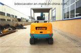 Escavatori Bd23 (2.3T/0.1m3) del cingolo dell'escavatore a cucchiaia rovescia di Baoding mini