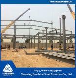 Estructura de acero ligera hecha del material de construcción de la viga de H para el taller