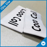 Contrassegni tessuti alta qualità piana per gli accessori dell'indumento