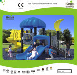 Kaiqi Small Colourful Childrens Playground Equipment Sets mit Slide - From Asiens Macdonald Playground Supplier (KQ35037A)
