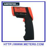 AR882+ de infrarode thermometer van het hoge precisie niet contact met temperatuurwaaier 200~1650C