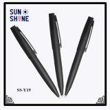 Altas plumas del metal del acero inoxidable del bolígrafo del negro del precio competitivo