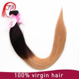 Cabelo humano reto de seda do cabelo popular de Omber Remy da classe 7A