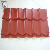 Dx51d 0.18mm Farbe beschichtetes angestrichenes gewölbtes Stahldach-Blatt