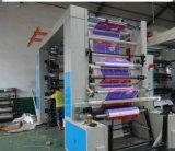 Presse à grande vitesse de Flexo pour le matériel d'impression en plastique de roulis de film du PE pp (YT-NX)