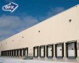 La construction en acier de structure en métal de modèle d'architecture de coût bas prévoit l'entrepôt préfabriqué par prix