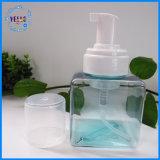 botella privada del plástico de la botella del aerosol de la botella del cuadrado de la insignia 250ml