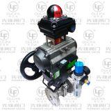 Válvula de esfera pneumática pneumática com filtro de ar Festo (Q641PPL-64P)