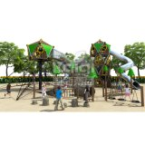 Напольная спортивная площадка серии Chalet взбираясь для парков атракционов с высоким качеством