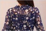 Мода Ladis Cliffon длинные тонкие одежды платье цифровой печати
