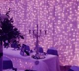 Decoração ao ar livre do casamento da luz impermeável da cortina do diodo emissor de luz