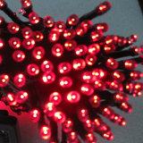 Свет шнура RGB солнечный приведенный в действие СИД Fairy для напольного украшения