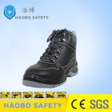 Hot Sale prix bon marché Semelle PU Steel Toe en cuir véritable Travailler durable industriel étanche des chaussures de sécurité pour les hommes
