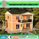 아프리카 프로젝트에 의하여 직류 전기를 통하는 이동할 수 있는 가벼운 강철 모듈 Prefabricated 건물
