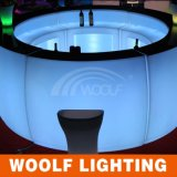 Contador redondo de la barra ligera de los muebles LED de la barra de Hotselling