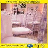 Cristal - cadeira desobstruída do arrendamento do casamento da cadeira dos eventos da cadeira de Chiavari