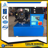 工場生産の良質のセリウムの油圧ホースのひだが付く機械