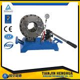 Potência do Finn do fabricante de China máquina de friso manual hidráulica portátil da máquina de pressão da mangueira da melhor
