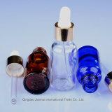 20ml farbiger kosmetischer Glastropfenzähler-Behälter für wesentliches Öl