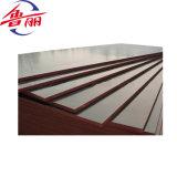La película de la madera contrachapada barato 18m m de la marca de fábrica 4X8 de Luli de la alta calidad hizo frente a la madera contrachapada