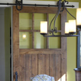 ホテルの内部の滑走の納屋の大戸のためのアメリカデザイン純木のドア